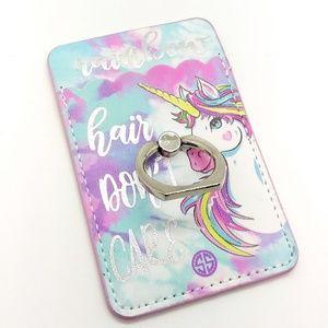 Simply Southern Phone Sleeve Rainbow Hair Unicorn